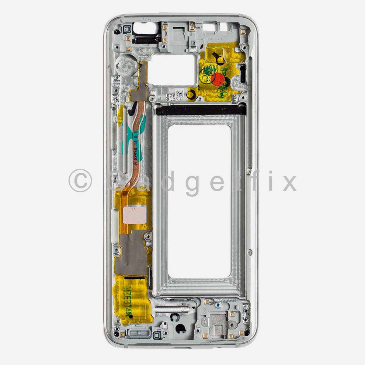 Silver Samsung Galaxy S8 LCD Holder Middle Frame Bezel Mid Chassis Housing