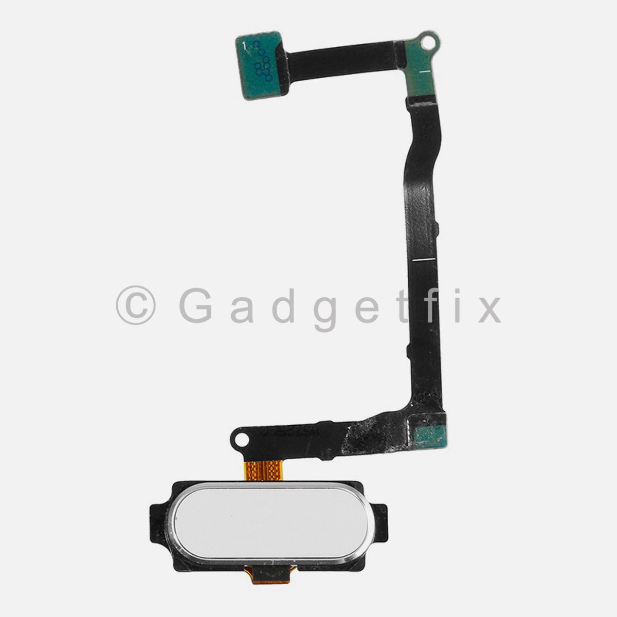 White Menu Home Button Flex Cable Replacement Part For Samsung Galaxy Note 5