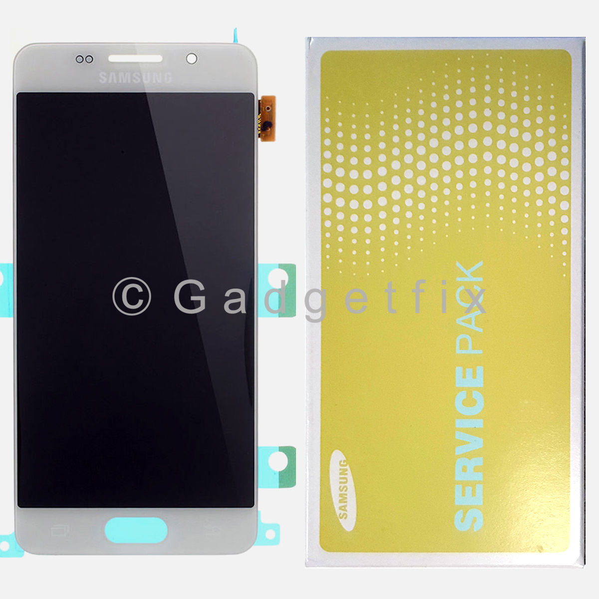 OEM White Samsung Galaxy A3 2016 A310F A310M LCD Screen Touch Screen Digitizer