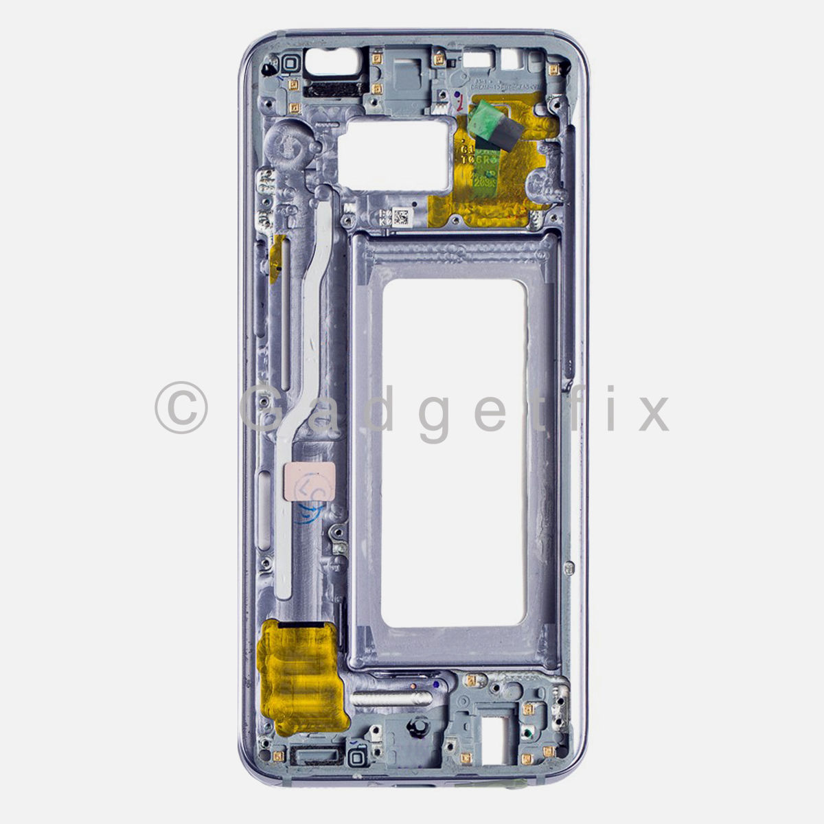 Orchid Gray Samsung Galaxy S8 LCD Holder Middle Frame Bezel Mid Chassis Housing