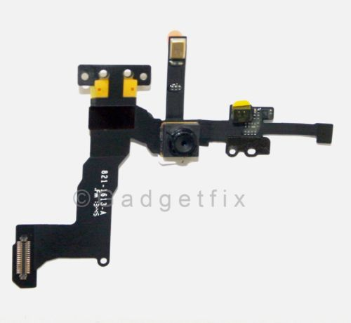 Proximity Sensor Light Motion Flex Cable & Front Face Camera Cam for Iphone 5S