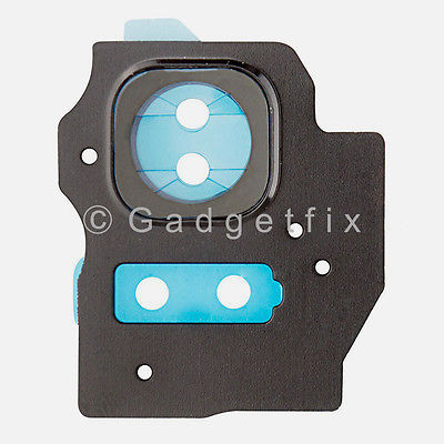 Rear Camera Lens Cover Flash For Samsung Galaxy S8 Plus G955A G955T G955V G955P