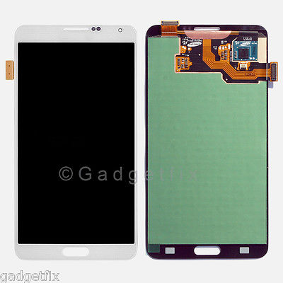 White Samsung Galaxy Note 3 N9000 N9005 N900A N900T N900V N900P LCD Screen Digitizer Touch