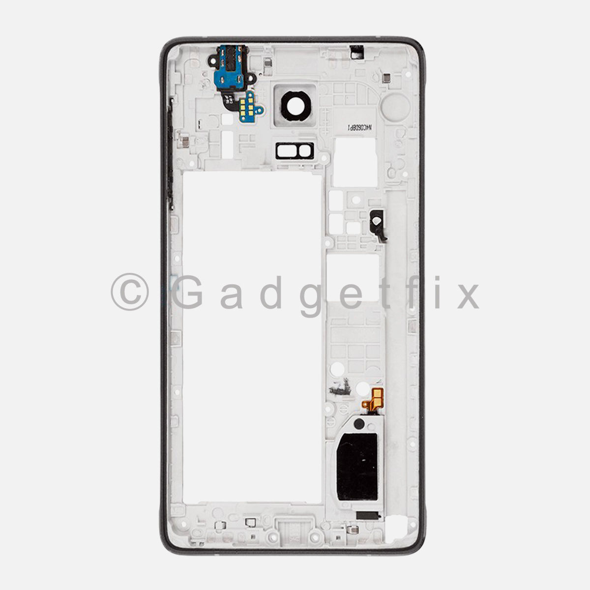 Samsung Galaxy Note 4 N910A N910T N910F Middle Frame Housing Bezel Camera Cover