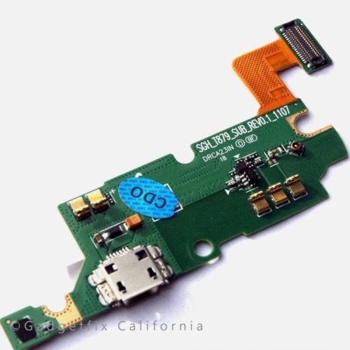 Samsung Galaxy Note T879 i717 Charging Micro USB Port Dock Flex Cable Mic USA
