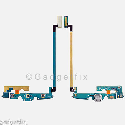 Samsung Galaxy S4 Active i9295 USB Charger Port Front Keyboard & Mic Flex Cable