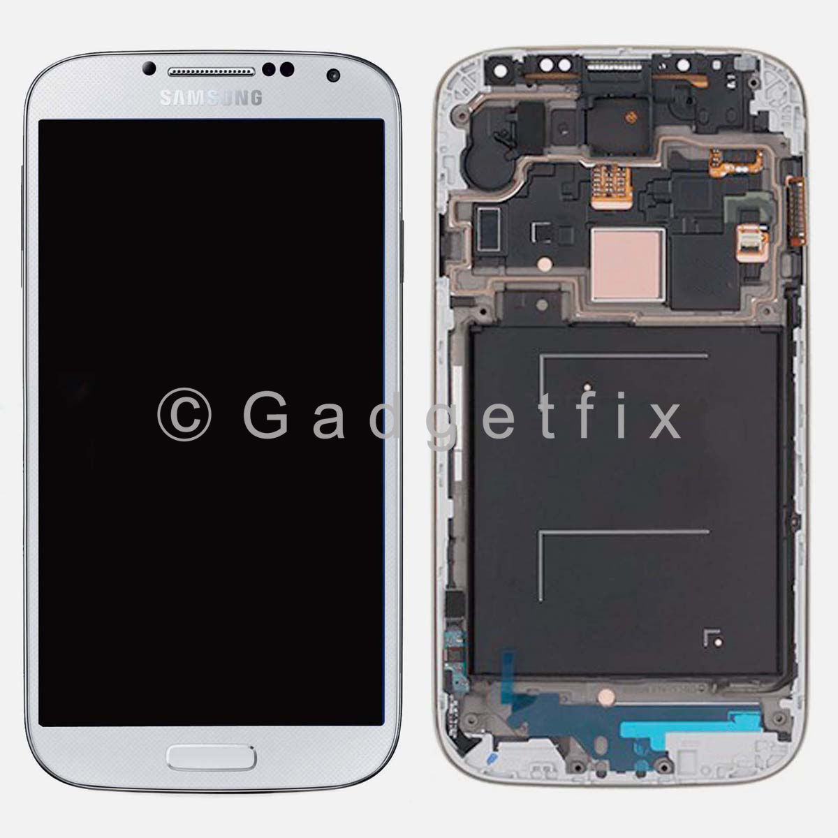 Samsung Galaxy S4 IV i9505 L720T LCD Screen Display Touch Digitizer Frame White