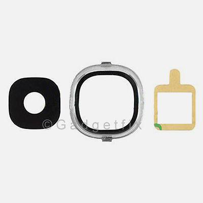 Samsung Galaxy S4 i9500 i9505 i337 i545 L720 M919 Camera Lens + Cover & Adhesive