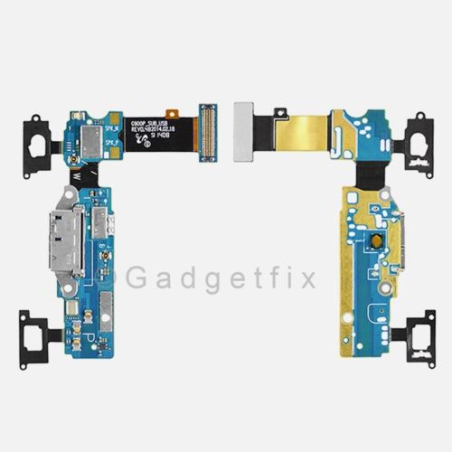 Samsung Galaxy S5 G900V Charger USB Port Home Connector & Sensor Key Flex Cable