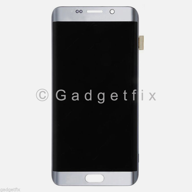 Silver Samsung Galaxy S7 Edge G935 G935A G935T G935V G935P G935F LCD Display Touch Screen Digitizer