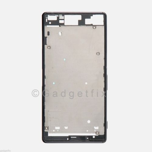 Sony Xperia Z3 D6603 D6643 D6653 LCD Touch Bezel Housing Chasis Frame + Adhesive