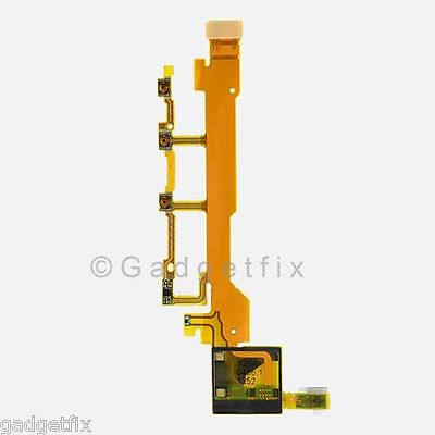 Sony Xperia Z L36 L36h LT36 Flex Cable Power Volume Button Connectors Microphone