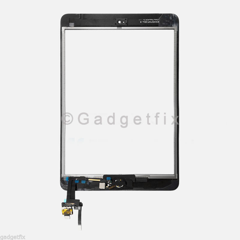Touch Screen Digitizer + IC Board Home Button Flex for Ipad Mini 3 3rd Gen A1599 A1600