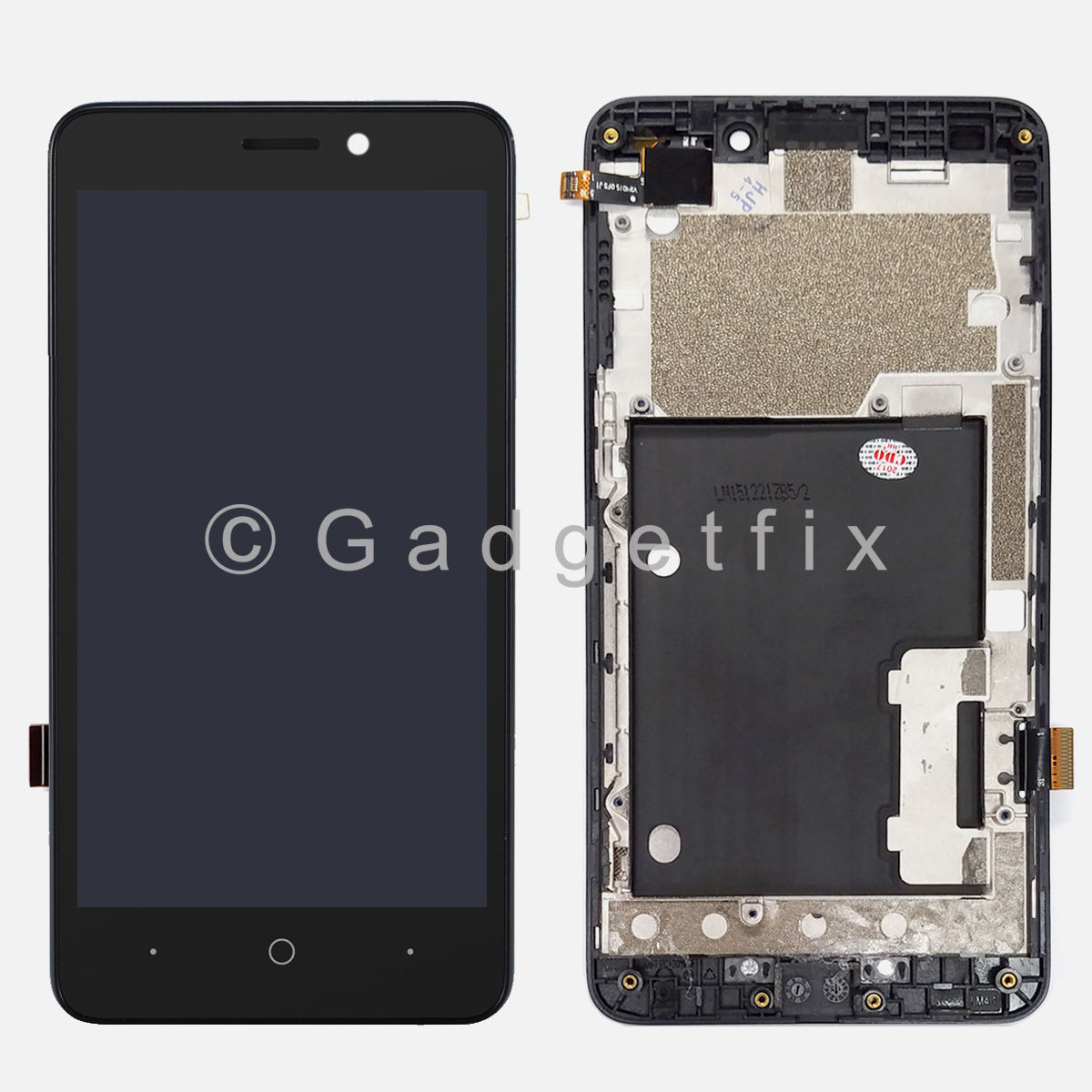 Touch Screen Digitizer LCD Display + Frame Assembly For ZTE Avid Plus Z828 Z828L