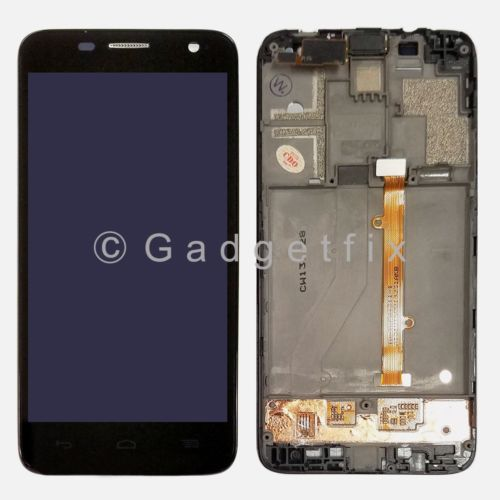 USA Alcatel Idol Mini 6012A 6012D 6012X 6012W LCD Touch Screen Digitizer + Frame