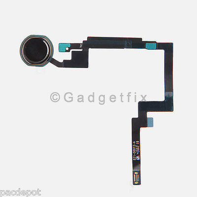 Black Home Button Sensor Connector Flex Cable Ribbon Repair for Ipad Mini 3
