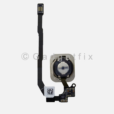 Black iPhone SE Home Button Flex Cable Fingerprint Touch ID Sensor Connector