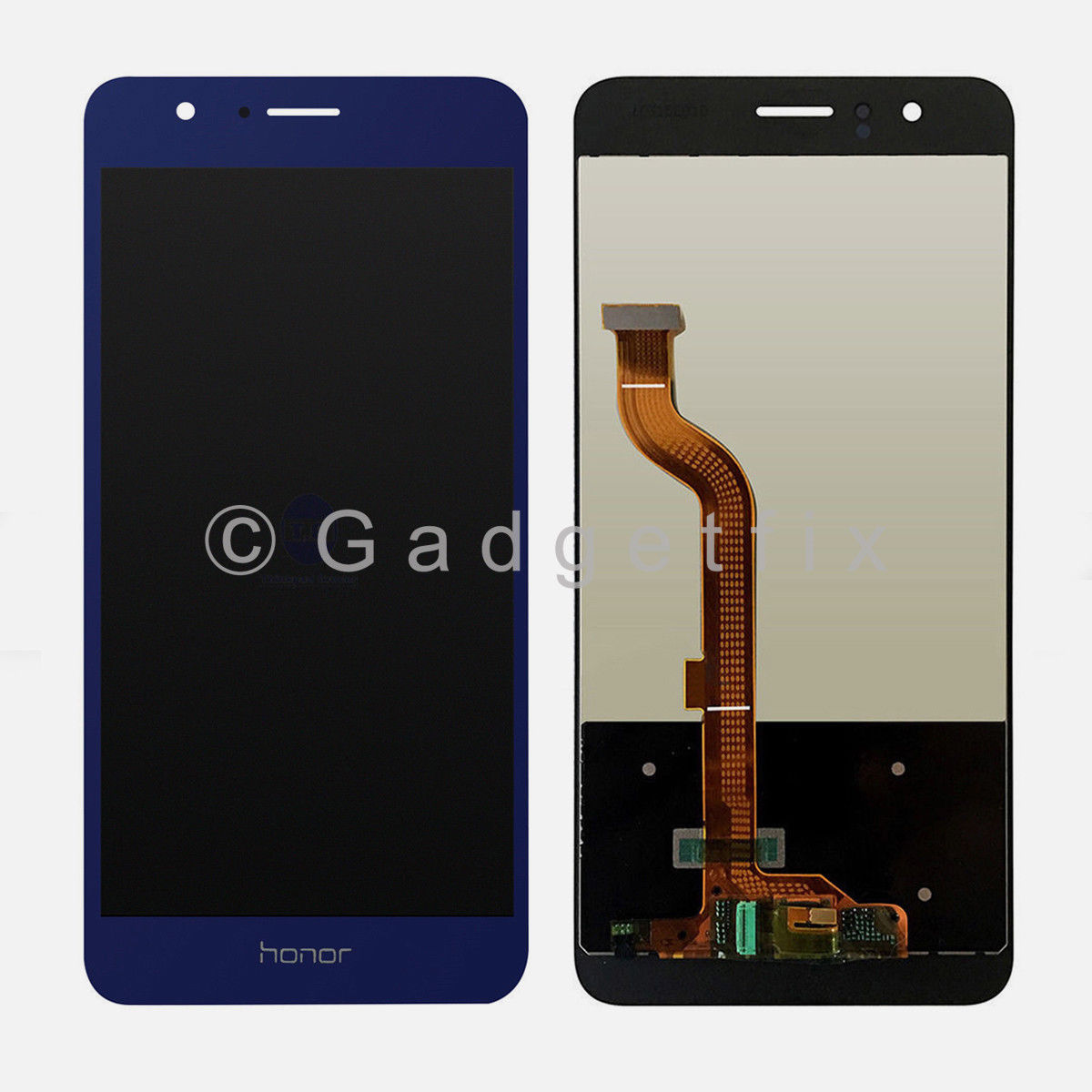 USA Blue LCD Display Touch Screen Digitizer Replacement Parts For Huawei Honor 8