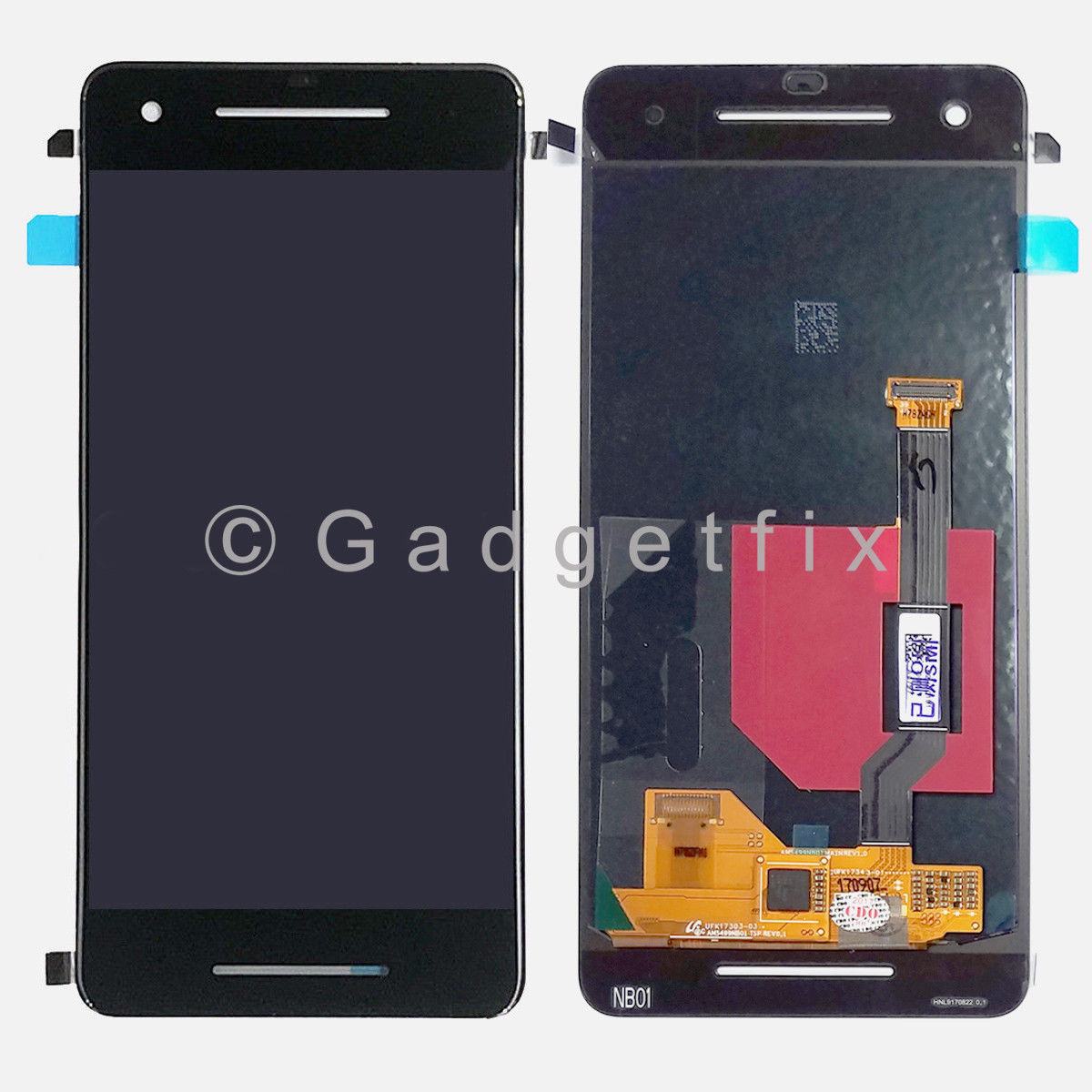 Display LCD Screen + Touch Screen Digitizer Replacement For Google Pixel 2
