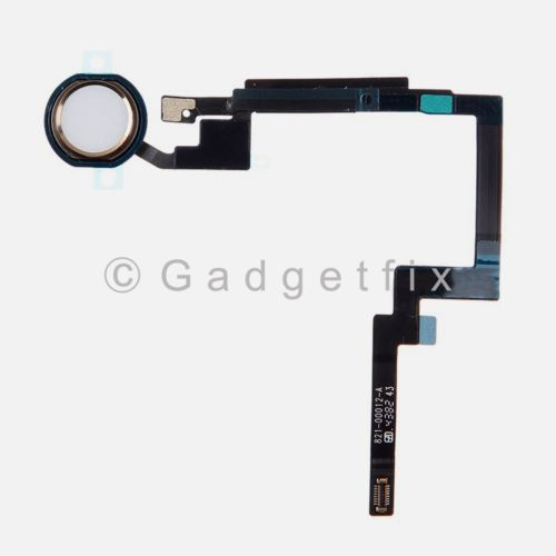 USA Gold Home Button Sensor Connector Flex Cable Ribbon Repair for Ipad Mini 3