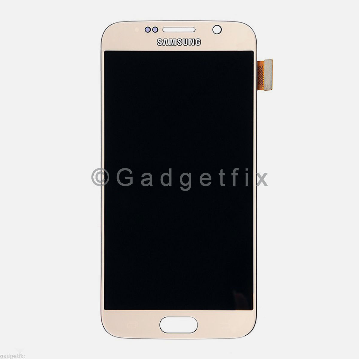 Gold Samsung Galaxy S6 G920A G920V G920P G920T LCD Touch Screen Digitizer A