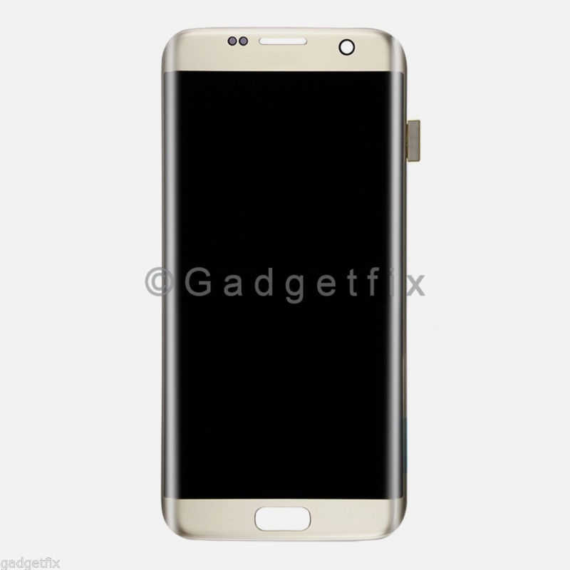 Gold Samsung Galaxy S7 Edge G935 G935A G935T G935V G935P G935F LCD Touch Screen Digitizer