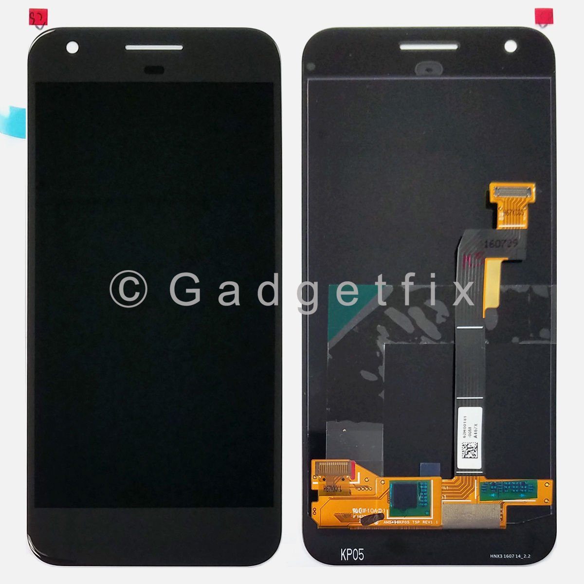 "Google Pixel 5.0"" LCD Display Touch Screen Digitizer Assembly + Adhesive"