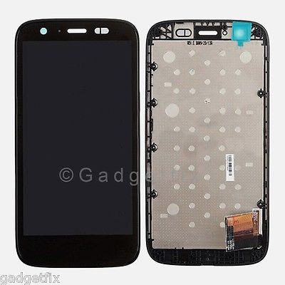 USA LCD Display Touch Screen Digitizer + Frame Bezel for Motorola Moto G XT1036