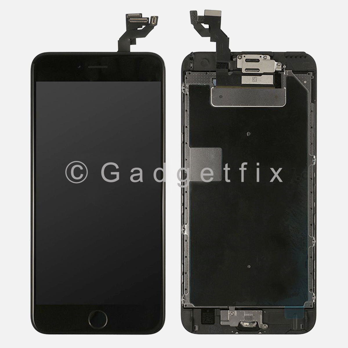 LCD Screen Touch Screen Digitizer + Home Button + Frame for iphone 6S Plus