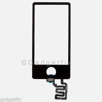 Black Touch Screen Digitizer Glass Panel for Apple iPod Nano 7 7th Gen