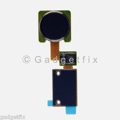 USA New Flex Cable Ribbon Home Button Touch ID Sensor For LG V10 H900 H901 Black