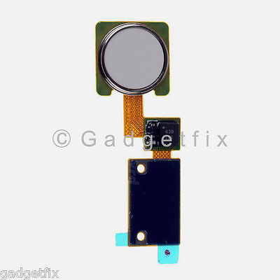 USA New Flex Cable Ribbon Home Button Touch ID Sensor For LG V10 H900 H901 White