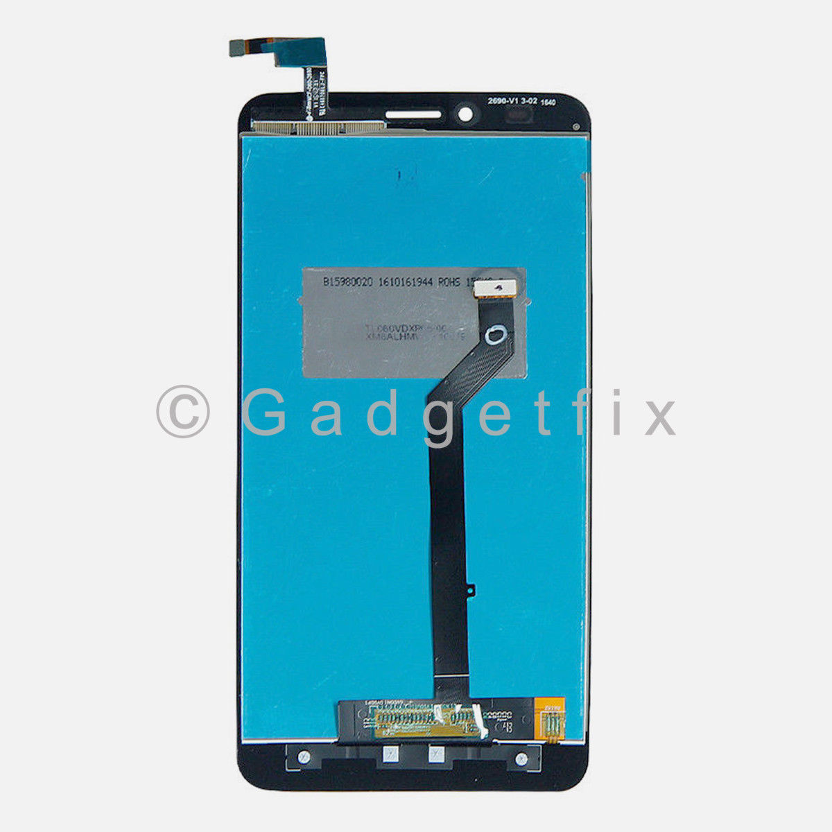 LCD Display Touch Screen Digitizer Replacement For ZTE Blade X Max Z983