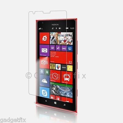USA Nokia Lumia 1520 Bandit Premium Tempered Glass LCD Screen Protector Guard