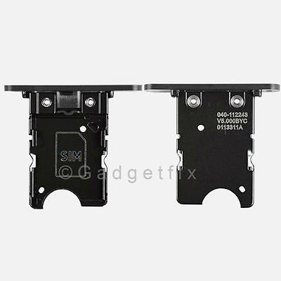Black Nokia Lumia 1020 SimCard Holder Sim Card Tray Replacement Parts