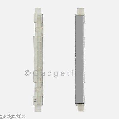USA OEM HTC One 801e M7 Volume Button Rocker Key Silver White Replacement Part