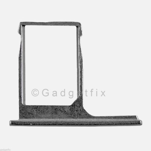 USA OEM HTC One M8 SimCard Reader Holder Sim Tray Grey Gray Replacement Part