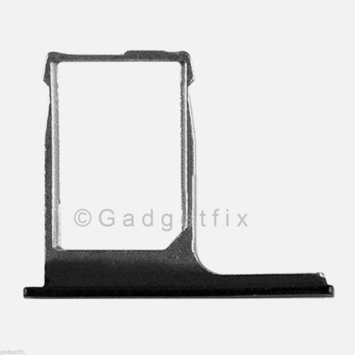 USA OEM HTC One M8 SimCard Reader Holder Sim Tray Slot Black Replacement Part