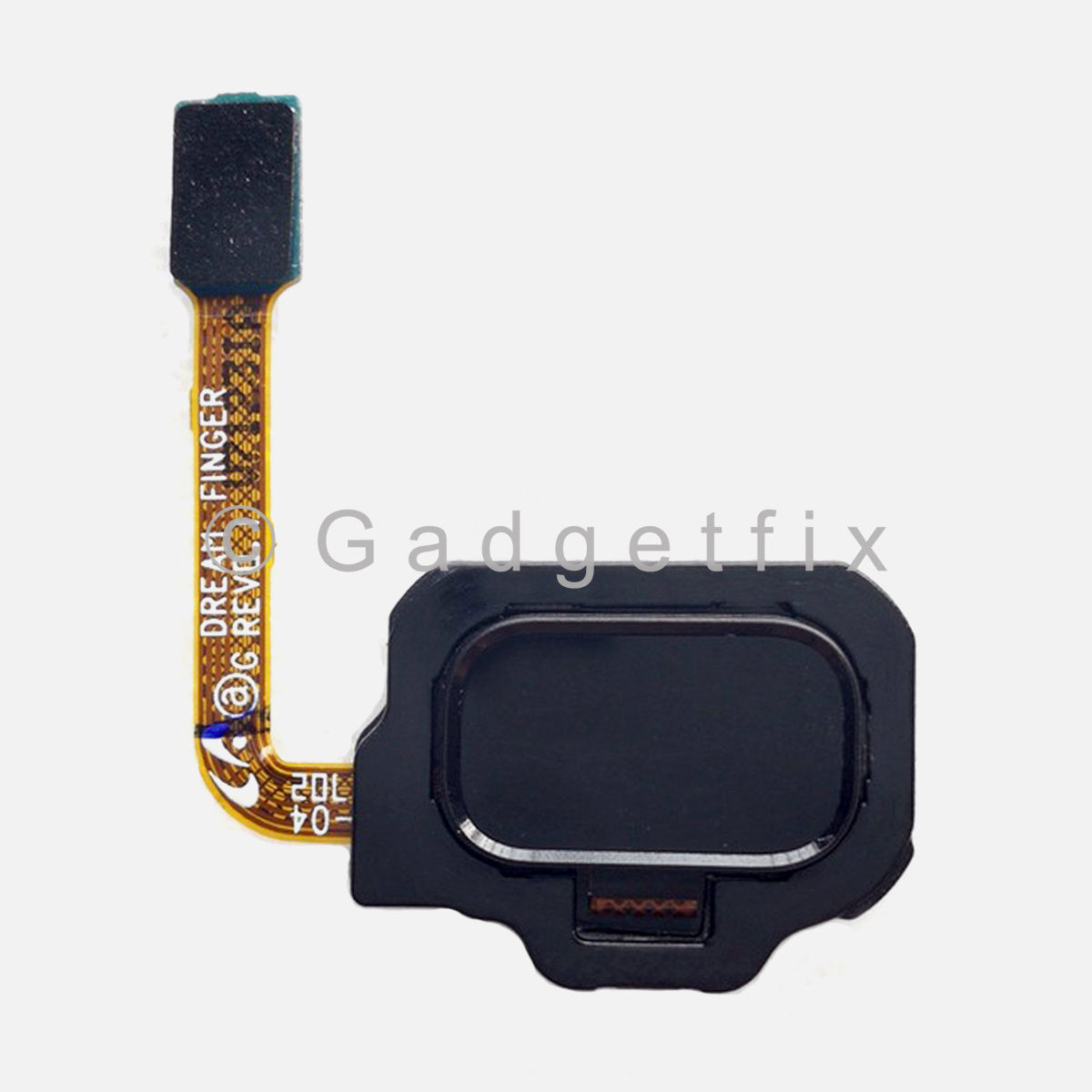 Black Fingerprint Scanner Reader Sensor Button Flex For Samsung Galaxy S8