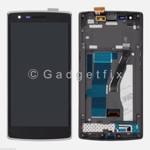 Oneplus One 1+ A0001 LCD Screen Display + Touch Screen Digitizer + Frame