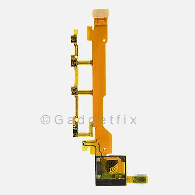 Sony Xperia Z L36h C6603 C6602 C6606 Flex Cable Power Volume Button Mic