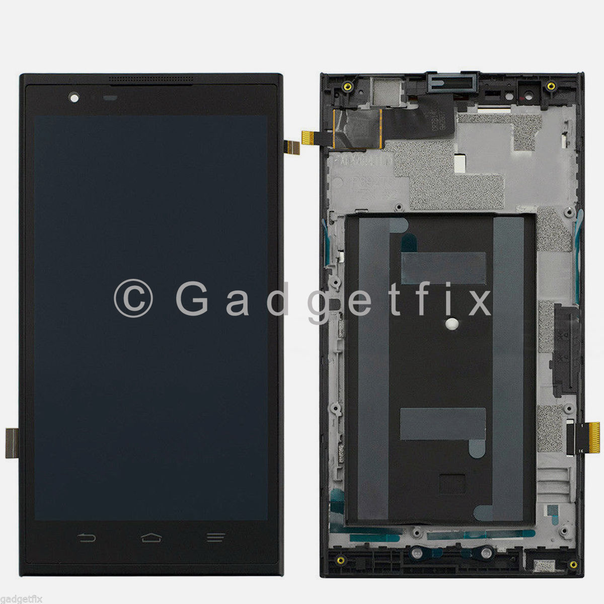 ZTE ZMAX Z970 LCD Display Screen Touch Screen Digitizer + Frame Assembly