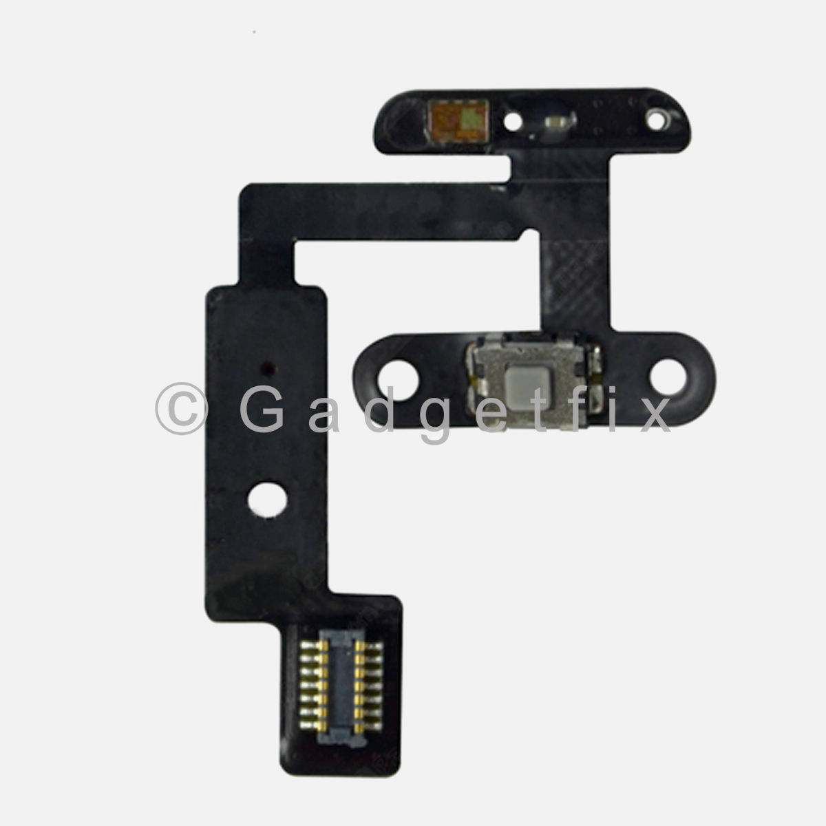 USA Power Button Connector Mic Microphone Flex Cable For iPad mini 4 A1538 A1550