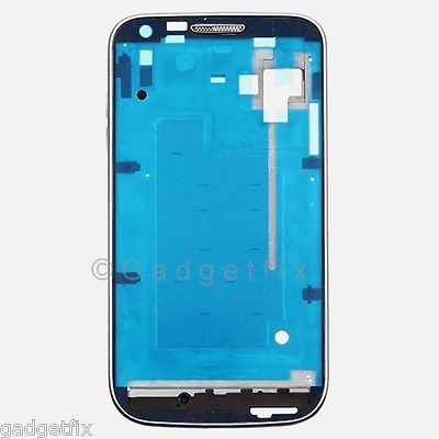 USA Samsung Galaxy S2 T989 Middle Housing Chassis LCD Holder Frame Bezel Silver