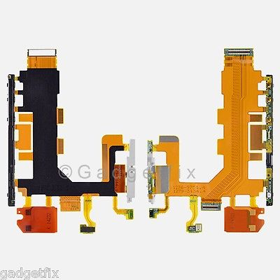 USA Sony Xperia Z2 D6502 D6503 D6543 Sirius Power & Volume Connector Flex Cable