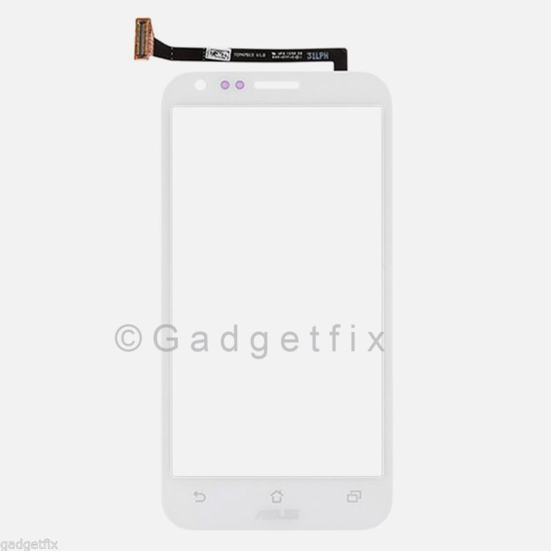 USA White ASUS PadFone 2 II A68 Touch Screen Digitizer Glass Replacement Parts