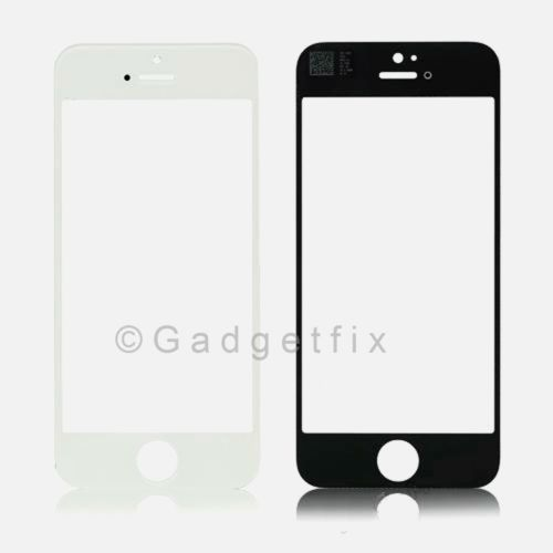 USA White Front Outter Top Glass Lens Cover Screen Repair Part for iphone 5S