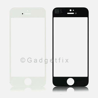 USA White Front Outter Top Glass Lens Cover Screen Repair Part for iphone 5