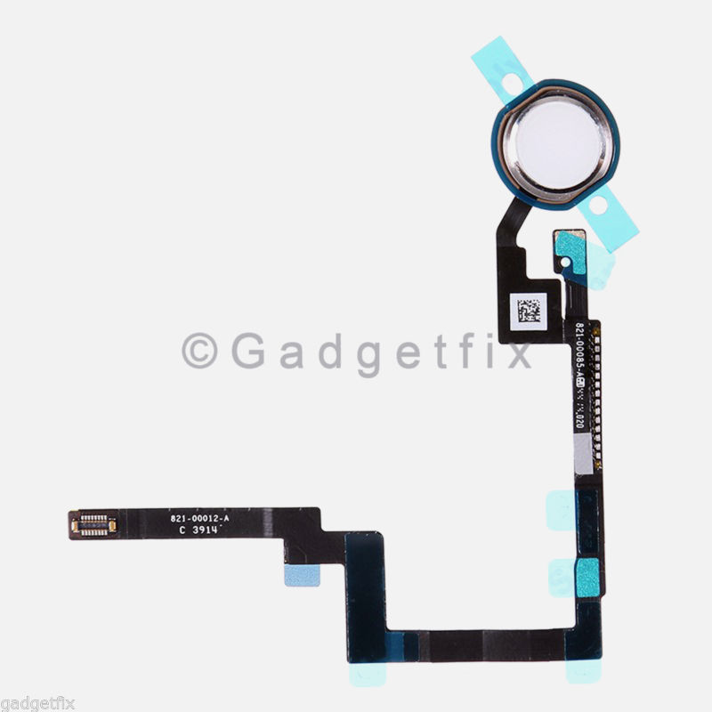 USA White Home Button Sensor Connector Flex Cable Ribbon Repair for Ipad Mini 3