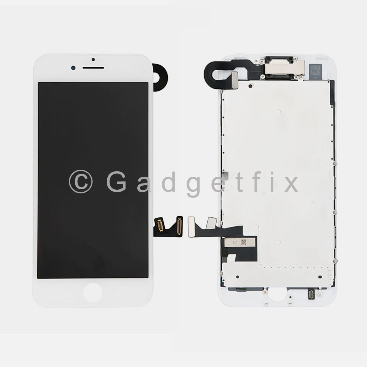 White LCD Screen Display Touch Screen Digitizer For iPhone 7 + Small Parts